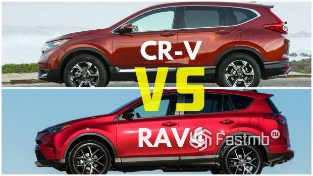Toyota RAV4 vs Honda CR-V