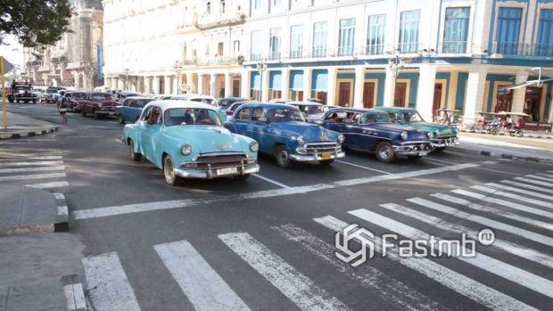 Раритет на дорогах Гаваны