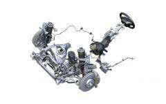 Механизм активного рулевого управления