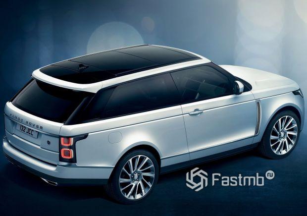 Боковая часть Range Rover SV Coupe 2019