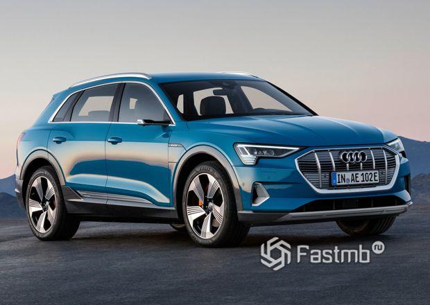 Новый Audi e-tron 2020
