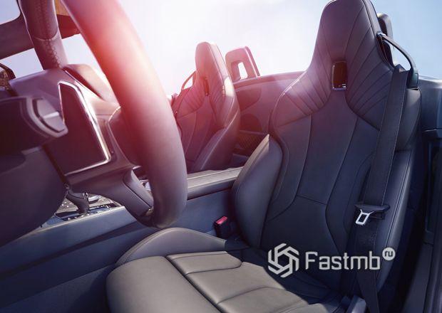 Сиденья нового BMW Z4 2019