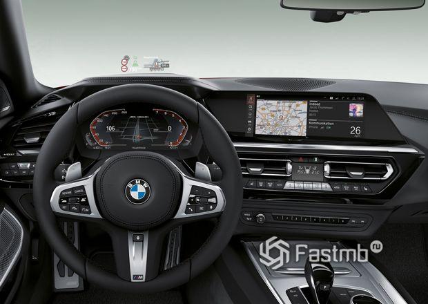 Интерьер нового родстера BMW Z4