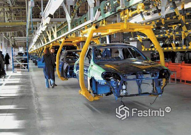 Линия по производству автомобилей ЗАЗ