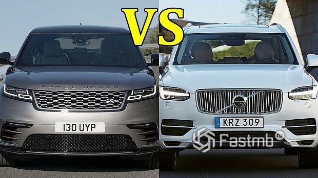 Что лучше купить — Volvo XC90 или Range Rover Velar?