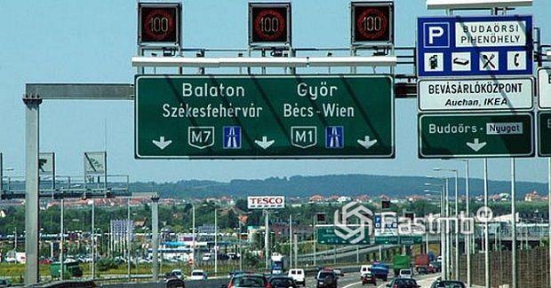 Венгерская автомобильная сеть