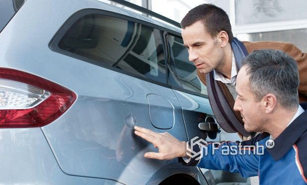 Оцениваем ущерб автомобиля после аварии