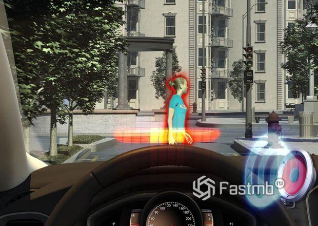 Принцип работы системы обнаружения пешеходов