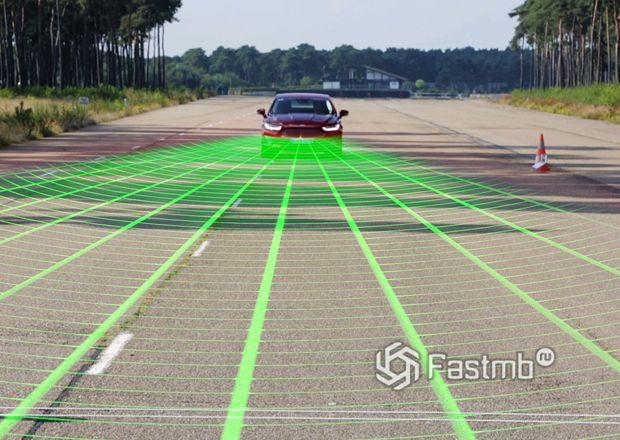 Устройство системы распознавания пешеходов на авто Ford