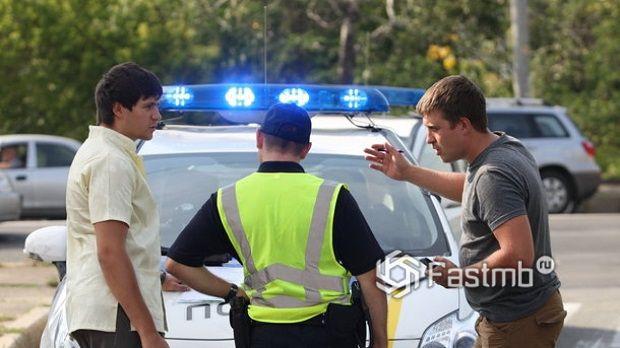 Не нужно хамить дорожной полиции в Украине