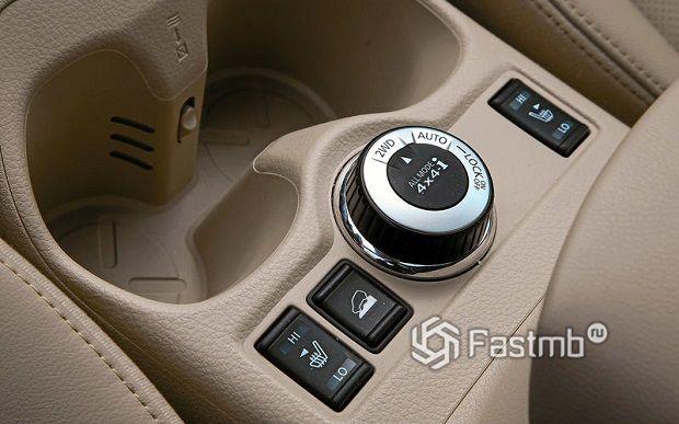элементы интерьера Nissan X-Trail