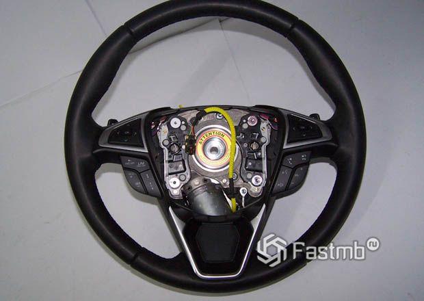 Устройство рулевого колеса адаптивной системы
