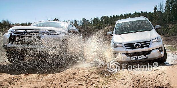 Toyota Fortuner или Mitsubishi Pajero Sport — что лучше?