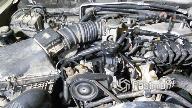двигатель Pajero Sport