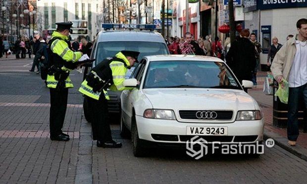 Как подать документы дорожной полиции в Европе