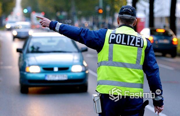 Причины остановки дорожным полицейским в Европе