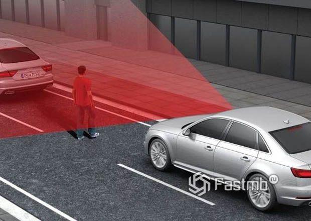 Система экстренного торможения в новых автомобиля