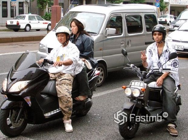 Двухколесные лихачи в Японии