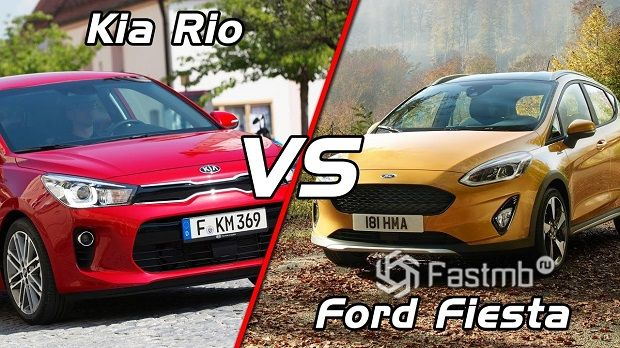 Ford Fiesta vs Kia Rio