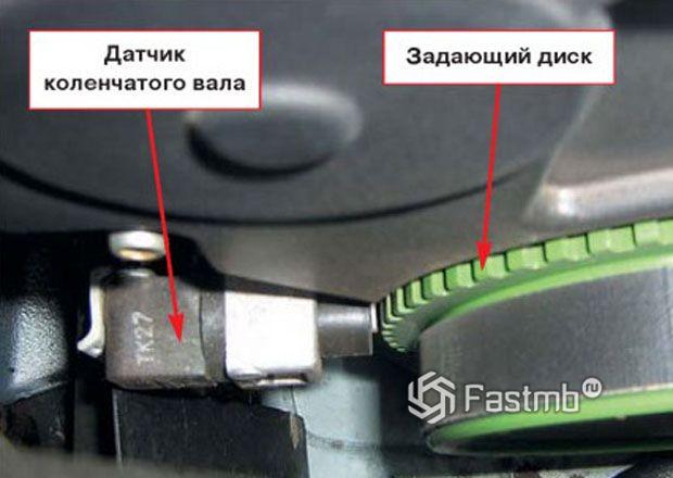 Вариант использования оптического датчика