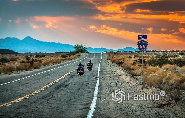 ТОП-10 экстремальных дорог в США