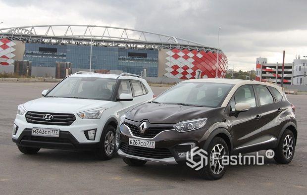 Hyundai Creta vs Renault Kaptur — что лучше?