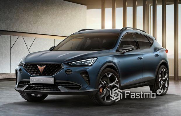 Новый Cupra Formentor Concept 2019