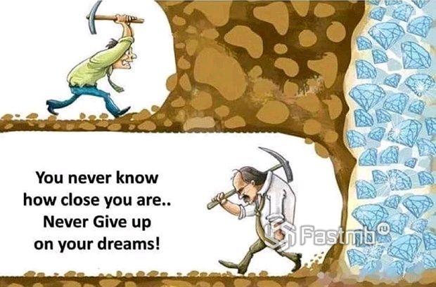 Илон Маск: Never give up!