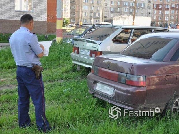 Правила стоянки и парковки