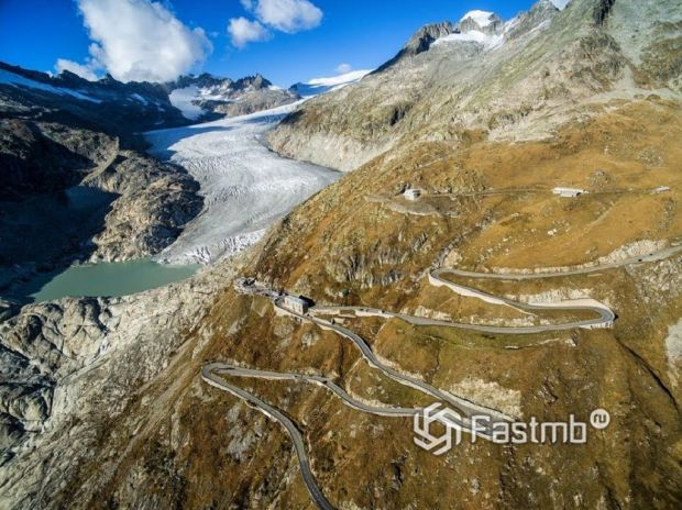 Перевал Фурка (Швейцария, Furkapass)