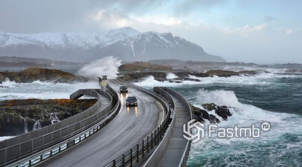 Атлантик-роуд (Норвегия, Atlantic Road)