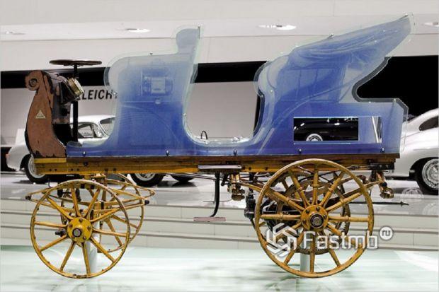 Электромобиль Porshe был найден и помещен в музей производителя