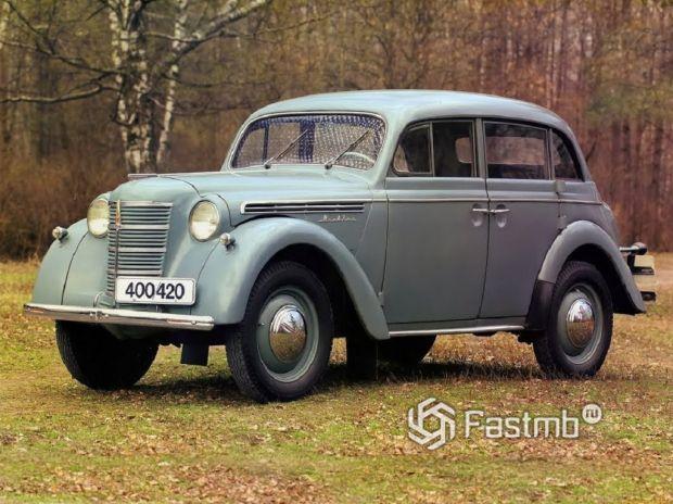 модель Москвич-401