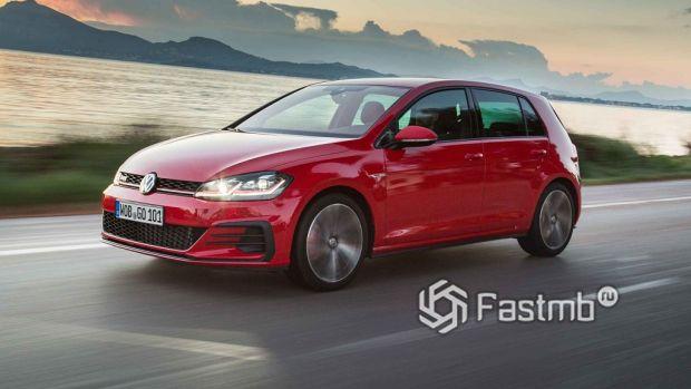 самый популярный немецкий хэтчбек Volkswagen Golf