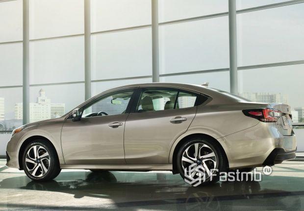 Боковая часть Subaru Legacy