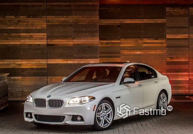 Седан BMW 5-Series 2014