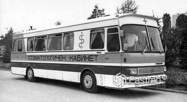 междугородний вариант автобуса Чавдар