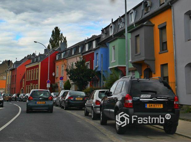 автомобили в Люксембурге