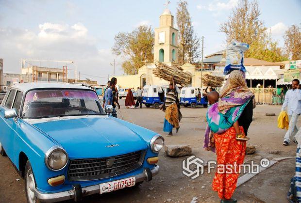 автомобили в Эфиопии