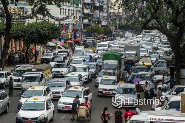автомобили в Мьянме