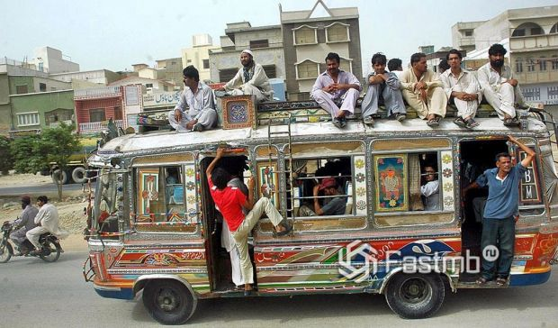 автомобили в Пакистане