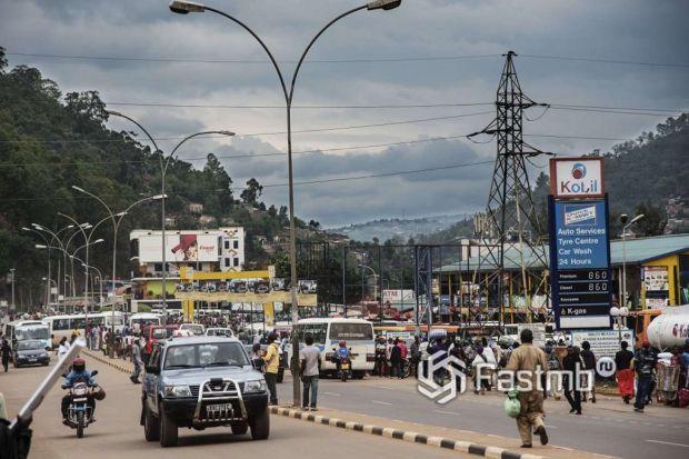 автомобили в Руанде