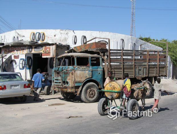автомобили в Сомали