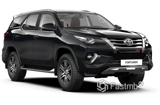 экстерьер Toyota Fortuner