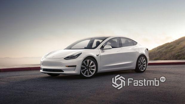 Стильная Tesla Model 3