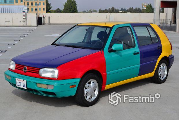 Volkswagen Golf III Harlekin