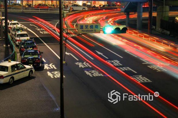 Дисциплинированность водителей Японии