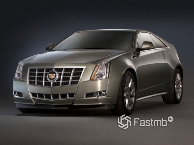 Cadillac CTS Coupe, 2014
