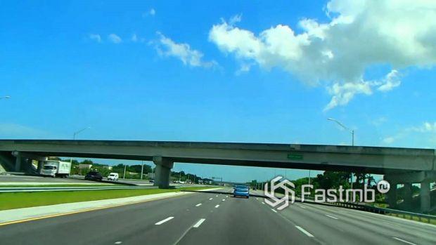 Трасса I-95, Восточное побережье
