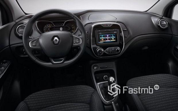 салон Renault Kaptur